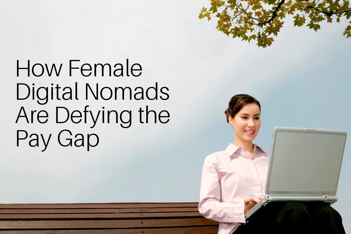 Gender pay gap digital nomads