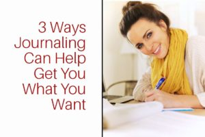 How journaling can help
