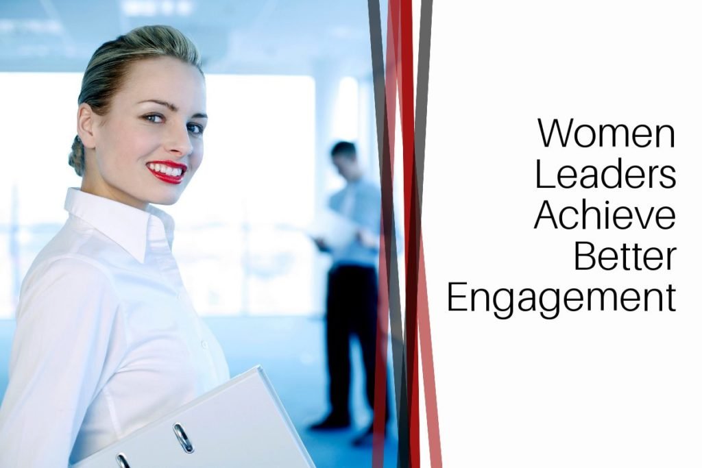 Women leaders better engagement