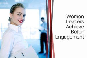 Women leaders better engagement