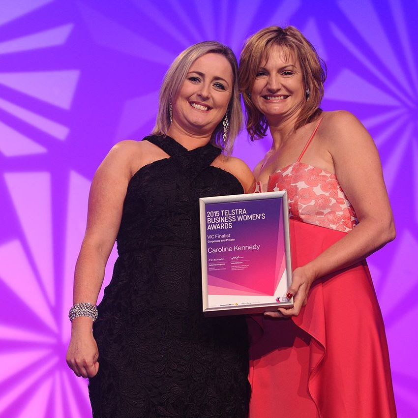 Telstra Awards Caroline Kennedy